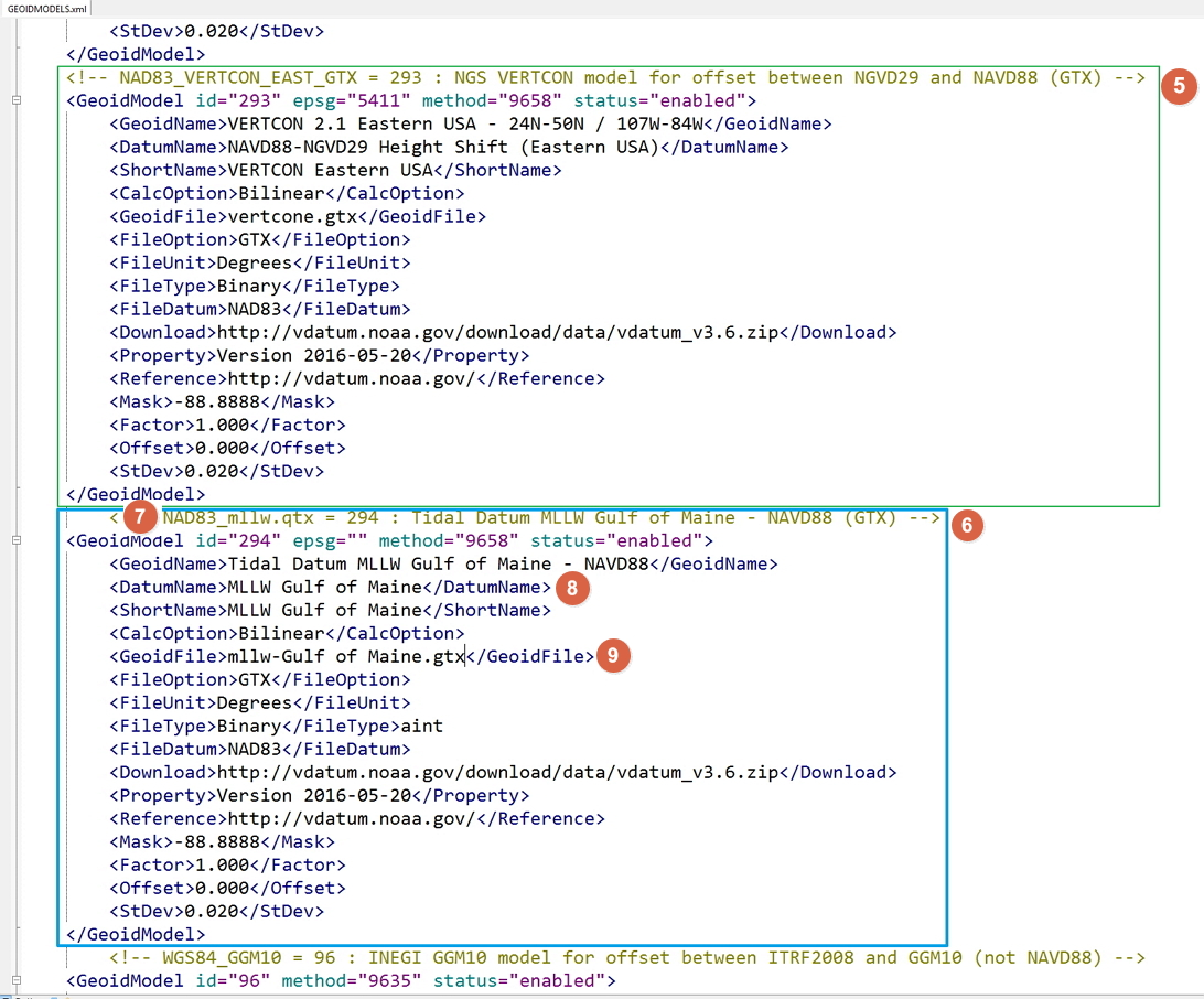 How-to Update Geoid Models xml - Qinsy